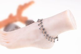 Wholesale Wholesale Girlfriend Bracelet - Bohemia anklet jewelry anti-sliver barefoot ankle bracelet for girlfriend chaine cheville femmesliver plated foot bracelet on a leg