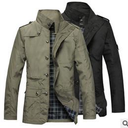Al por mayor- 2016 primavera otoño nuevos modelos de explosión delgada coreana venta caliente hombres chaqueta cortavientos fina de alto grado rompevientos barato al por mayor desde fabricantes