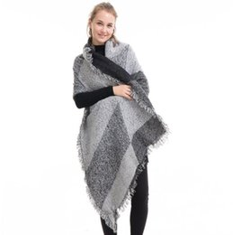 Bufanda de pashmina online-Venta caliente 2018 Moda de invierno Manta bufanda Mujer cachemira Pashmina Lana bufanda Chal cálidos bufandas gruesas Cabo envuelve. Envío gratis