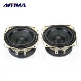 Wholesale Wholesale Home Theater Speakers - Wholesale- AIYIMA 2pcs 2.75 Inch Full Range Speaker 8Ohm 15W Tweeter Subweefer Bass Common Speakers Home Theater Stereo Radio Loudspeaker