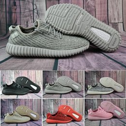 Wholesale Womens Oxfords Lace Ups - New boost 350 pirate black turtle dove moonrock oxford Tan Cheap Discount Men Womens Running Shoes kanye west 350 Boost season With Box