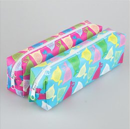 Wholesale Nice Old - Wholesale- Fresh candy color pencil bag pencil case  Kawaii stationery Nice Gift Papeleria Office school supplies WJ0390