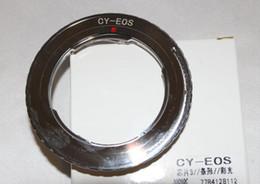 Canada Vente en gros- AF Comfirm C / Y CY objectif Contax Yashica à bague d'adaptation pour appareil photo EOS EF 60D 40D 50D 550D 600D dslr cheap wholesale eos Offre