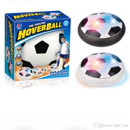 Wholesale Light Up Football Toy - LED Football Disc Gliding Floating Ball Toy Lights up Air Colorful Outdoor Hover Air Suspended Football Soccer Indoor Sports Inutdoor Games