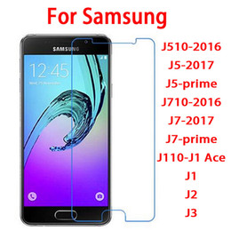 Wholesale Wholesale Bulk Sales - bulk sale tempered glass screen protector film for Samsung galaxy J510-2016 J5-2017 J5-prime J710-2016 J7-2017 J7-prime J110-J1 Ace J1 J2 J3
