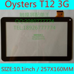 Wholesale External 3g For Tablets - Wholesale- 10.1inch YCF0464-A YCF0464 For Oysters T12 T12D T12V 3G Tablet pc external capacitive Touch screen capacitance panel