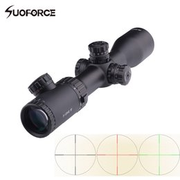 Wholesale Red Green Reticle Sight - 3-12x42 SF Optical Sight Rifle Scope Mil-Dot Reticle Red Green Black illumination Waterproof anti-fog Hunting Shooting Scopes
