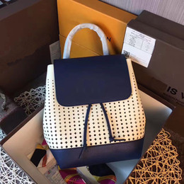 Wholesale Cluth Purse - Famous designer new arrival backpack fashion and real cowhide handbag crossbody girl day cluth and purse weekend bag casual travel bag