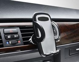 Wholesale Mix X5 - Suction Car Air Vent Clip CD Slot Cell Phone Holders Stands For LG U V20 V10 X power2 G6 G5 X5 X Skin x Mach Stylus 3,K4 K3 K8 K10(2017)