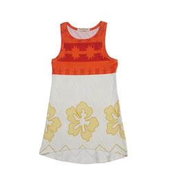 Wholesale Sheath Dress Kids - suspender dress Summer Girl's Dresses Children 's clothing girl big flower splicing color vest dress Baby Kids Clothing 1071