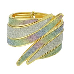 Wholesale Irregular Cuff Bangle - Fashion Jewelry New Designer Gold-Color Irregular Cuff Bracelets and Bangles For Women