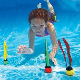 esportes marinhos nadam Desconto Crianças Piscinas Jogar Esporte Ao Ar Livre Mergulho Mergulho Grab Vara Planta Do Mar de Natação Piscina de Natação Esportes Aquáticos Dabble Train Grab Brinquedos 12sx J1
