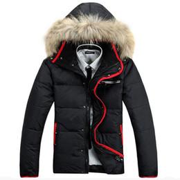 Wholesale Down Jaket - Wholesale- Free Shipping Down Male Jacket Casual Clothing Down Parkas Casual Coat Jaket Doudoune Homme Men Winter jacket 290