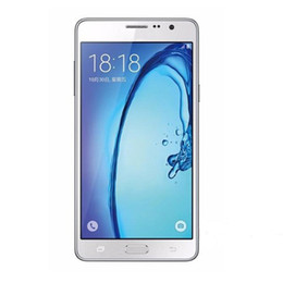 Wholesale Unlocked Cellphones Free Shipping - 5.5'' Samsung Galaxy On7 Quad Core 1.5G 16GB Android 5.1 Dual SIM Refurbished unlocked phone free shipping