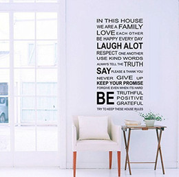Wholesale Wall Quote Life - English wall art Removable Home Decor PVC DIY Decorative Life is Fine Wall Sticker English Quote for Living Room 60X90cm