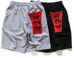 Wholesale Cotton Beach Wear - Summer 424 Kanye Men's Shorts High Quality West Street Hip Hop Men Short Trousers Beach Wear Pants