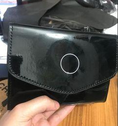 Wholesale Coat Holder - classic fashion PU coating passport holder card bag famous logo black PU bag card holder passport bag VIP gift