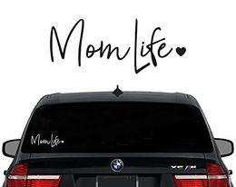 "Wholesale Purple Wall Stickers - Mom Life Decal Vinyl Sticker|Cars Trucks Vans Walls Laptop Decal Stickers Car Window funny Truck laptop macbook Vinyl 6"""