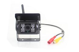 Wholesale Reverse Sensor Digital - car truck wireless rearview camera PZ607W 2way video in 7 inch digital panel Automatically work when reversing Camera Pixal 648*488 free dhl