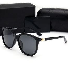 Wholesale Sunglasses Pearls - hot sale 6 colors new trend polarized UV protection big frame pearl fashion sport designer sunglasses for women