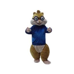 Wholesale Squirrel Mascot Costumes - squirrel Mascot Costumes Cartoon Character Adult Sz 100% Real Picture