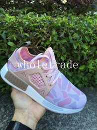 Wholesale Pink Camo For Sale - Girls and womens pink NMD XR1 Duck Camo ship With Box nmd women r1 pk running shoes nmds nmd runner for sale dropshipping