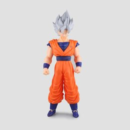 Wholesale Goku 36cm - Hot Sale Dragon Ball Super Z Super Sayan God Son Goku 36cm Action Figure Anime Model Toy New In Box