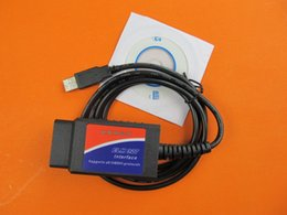 Wholesale Automotive Obd - high quality usb elm327 v 1.5 from china obd ii can-bus Automotive OBD2 Scan Tool interface cable