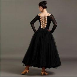 Wholesale Ballet Dance Competition - ballroom dance dress for ballroom dancing waltz modern dance costume ballroom dance competition dress ballet dress red flamenco