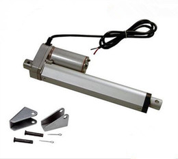 Wholesale Dc Linear Actuators - DC 12V 24V 10inch 250mm linear actuator with mounting brackets, 1000N 100kgs load linear actuators