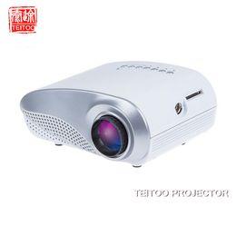 Wholesale Cheap Tv Projectors - Wholesale-Wholesale White 200Lumens 1080P Cheap Mini LED Digital Portable HDMI TV USB Projector for Home Theater 3D Review, Free Tripod