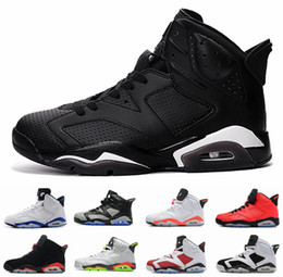 Wholesale Gold Star Discounts - 2017 Retro 6 Black Cat Mens Basketball Shoes 6s Pinnacle Metallic Gold mens sneaker Carmine Maroon sports shoes oreo discount shoes