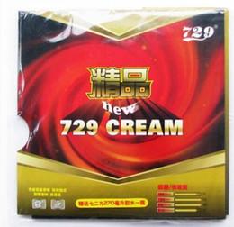 Sehr tische online-Neuester 729 CREAM 729 Fast Stock-Tischtennisgummi mit Loop-Pingpong-Schlägern