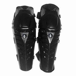 Wholesale Motorcycle Shin Guards - Wholesale- Wolfbike Racing Protective Gear Motorcycle Knee protector Pads Shin Elbow Protection Knee Guards