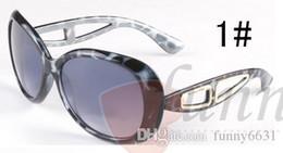 Wholesale Wholesale Print Frames - summer woman fashion adumbral sunglasses Men cycling Sun glasses ladies driving beach Leopard print Sun glasses 3colors AA goggle free ship