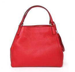 Wholesale Tassel Pu Hobo - Free Shipping!Quality Designer Women Hobos Genuine Leather Cowhide Handbags Fashion Tassel Soho Shoulder Bag With Chain 282309