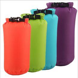 Wholesale Dry Bag 15l - 2017 Outdoor Travel dry bag PVC Tarpaulin waterproof roll top dry bag 15L lightweight Waterproof bags