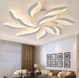 Wholesale Acrylic Ceiling Lamp Chandelier - Modern Chandelier Ultrathin Acrylic LED Ceiling Lights Living Room Lighting Fixtures Bedroom Lamps