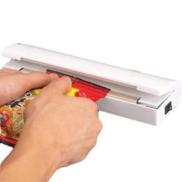 Wholesale Vacuum Package Sealer - Household Food Vacuum Sealer Packaging Machine Storage Bag Sealer Wholesale FEDEX &DHL Free Shipping