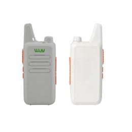 Langstrecken-walkie talkie uhf online-Wholesale-WLN-C1 Taschenformat Zwei-Wege-Radio Ultradünne PKT-03 UHF CB-Radio 5W Langstrecken-Walkie-Talkie-Radio mit KOSTENLOSEM Gürtelclip