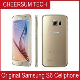 Wholesale galaxy lte - Original Samsung Galaxy S6 G920A G920F G920P LTE 4G Mobile Phone Octa Core 3GB RAM 32GB ROM 16MP 5.1 inch Android 5.0