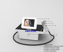 Wholesale screen remover - Korean technology Portable touch screen 3 Vacuum bio light RF radio frequency skin lift facial lift body contouring detox spa machine