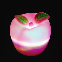 Wholesale Roses Night Light - lovely Night Lights Apple LED Light Children Glow Toys Creative Kids Gifts Christmas Wedding Background Decorative Prop Supplies 101zpC R