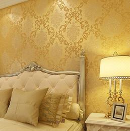 Wholesale Silver Wallpaper For Living Room - Wholesale- Italian Style Modern 3D Embossed Background Wallpaper For Living Room Silver And Gray Striped Wallpaper Roll Desktop Wallpaper