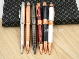 Wholesale Metal Business Pens - Luxury classics business gifts rose golden Vienna Metal Ballpoint Pen