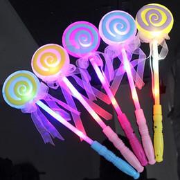 Abiti di lollipop online-led lollipop Flash fata bastoni Light magic bar giocattoli per bambini Festa party dress