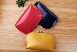Wholesale Women Letter Holders - Drop shipping Fashion designer Gentlemen prefer short wallets clutch leather men women Business card holders wallet with box