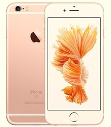 Wholesale Apple Iphone Phones - Original Apple iPhone 6S 64GB Refurbished Unlocked Factory Mobile Phone Without Touch ID Dual Core IOS 9 4.7 Inch 12MP
