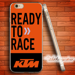 Wholesale Iphone Racing - Capa Ready to Race Soft Clear TPU Case for iPhone 6 6S 7 Plus 5S SE 5 5C 4S 4 Case Silicone Cover.