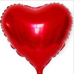 2019 36 pouces ballons d'or 18 pouces coeur ballon à air belle amour hélium feuille ballons enfants cadeaux fête de noël étape de mariage décoration